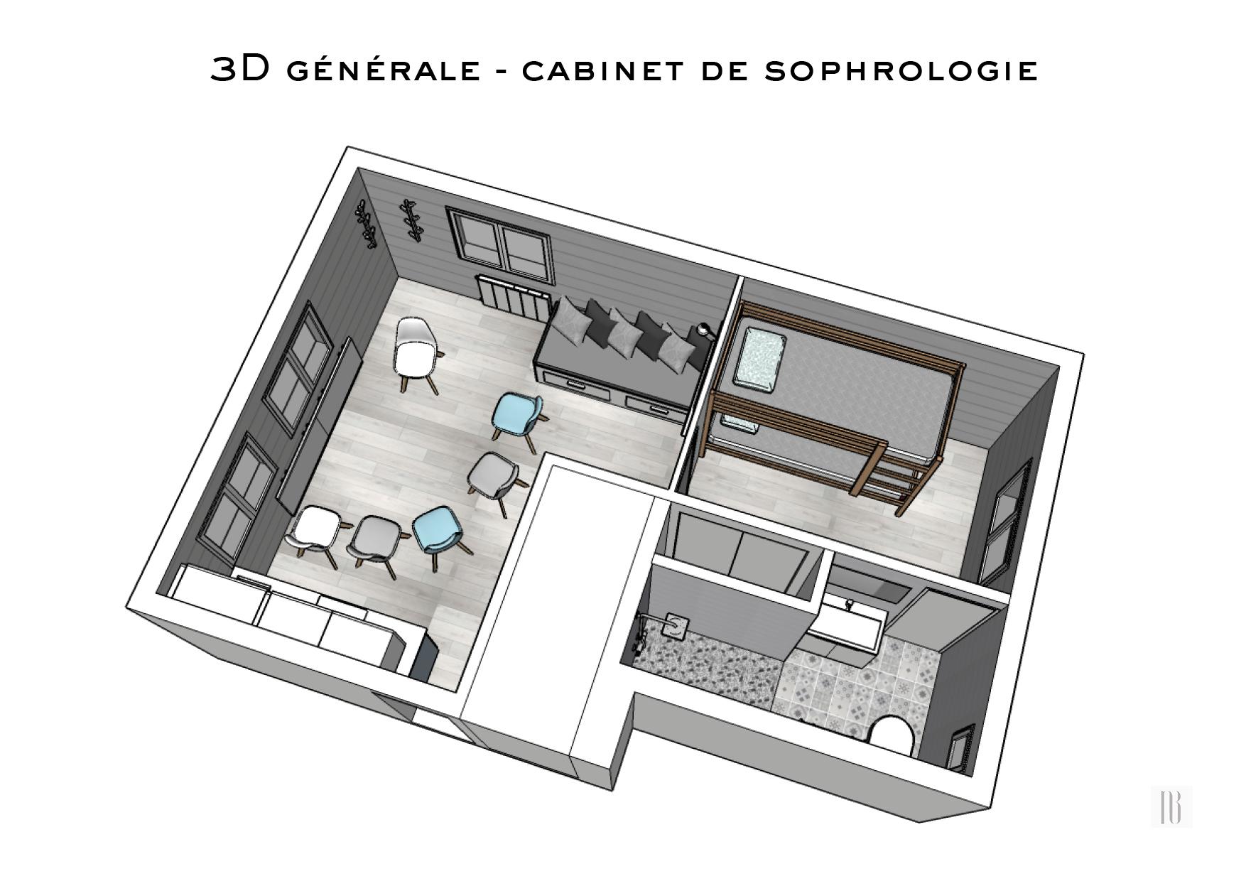 Agencement d'un appartement double fonction - Les Rousses (Jura)
