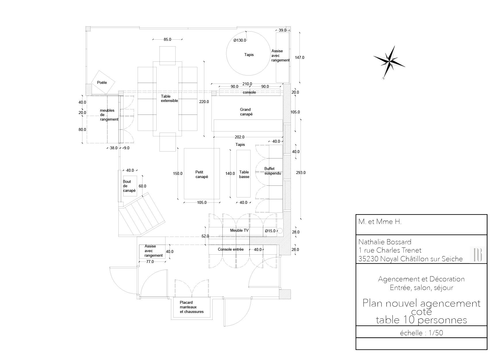 Nathalie Bossard décoration architecture intérieur Rennes 35 UFDI-390 Book déco maison individuelle bretagne sud 2019 plan nouvel agencement coté