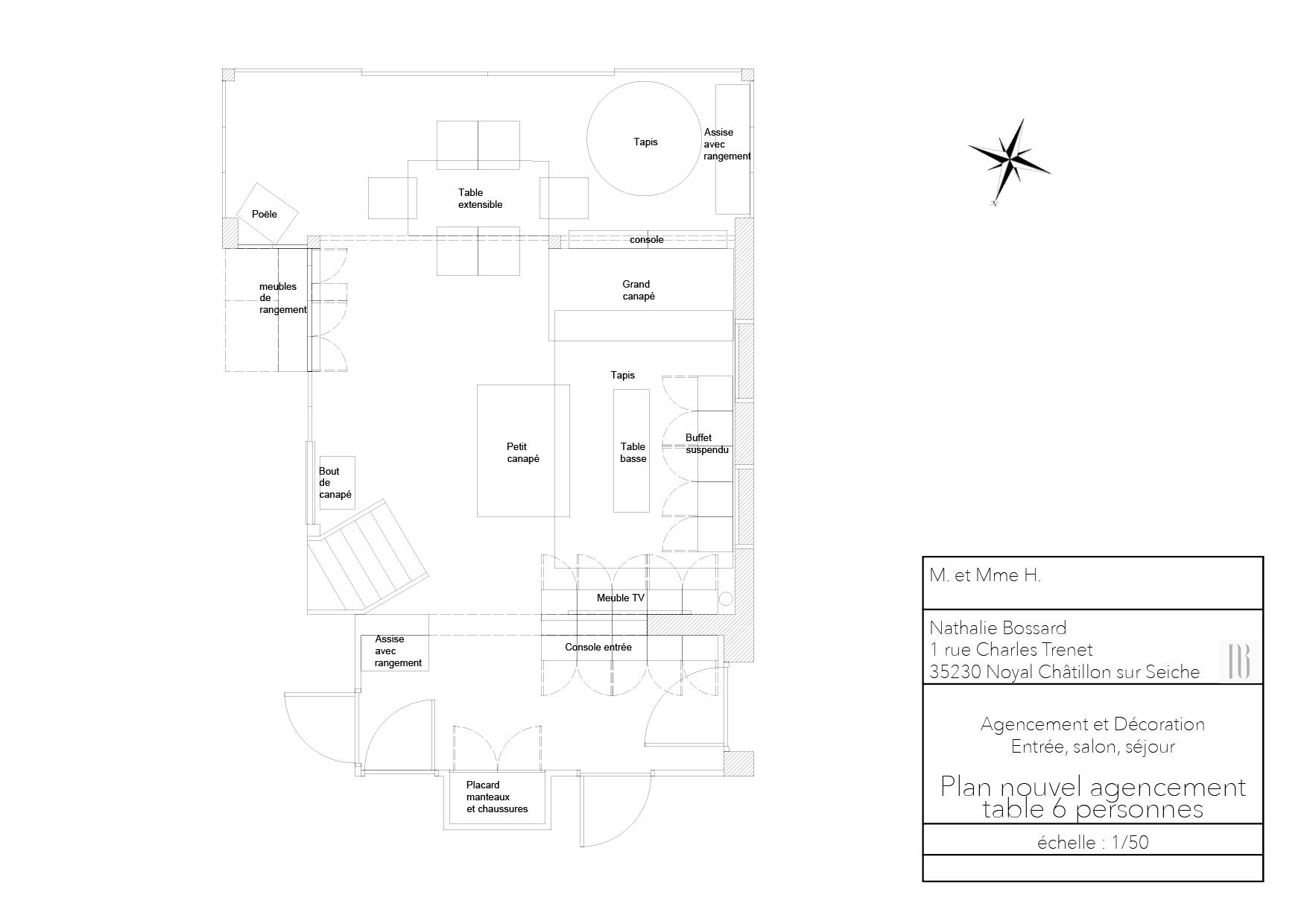 Nathalie Bossard décoration architecture intérieur Rennes 35 UFDI-390 Book déco maison individuelle bretagne sud 2019 plan nouvel agencement