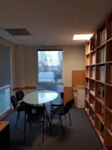 Décoration et agencement de bureaux à Saint Jacques de la Lande - bureau de direction avant, par Nathalie Bossard, Décoratrice d'intérieur, Rennes, Ille et Vilaine
